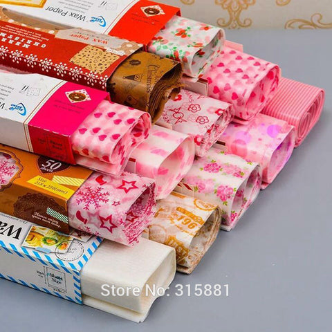 Wax Food Baking Soap Paper Food Wrapping Paper