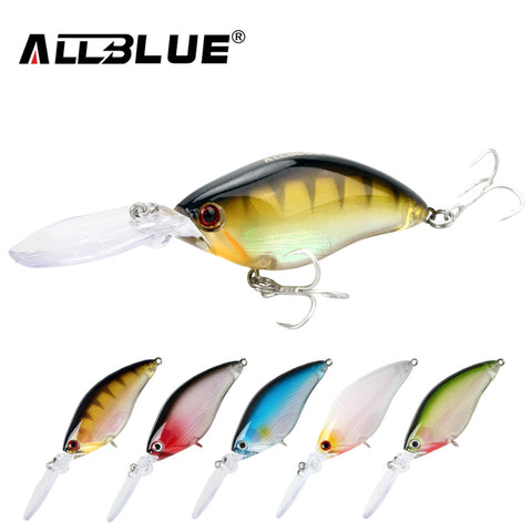 Crankbait Fishing Lure 17.8g 70mm Lifelike Wobblers With 6# Hooks