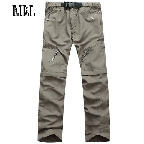 Mens Multi-function Waterproof Casual Travel Joggers Sweatpants Military Loose Cargo Pants,UA029