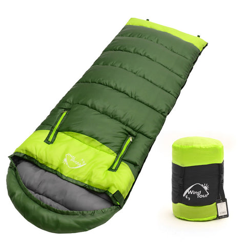 Adult's 3 Season Hollow Cotton Splicing Sleeping Bags VK023