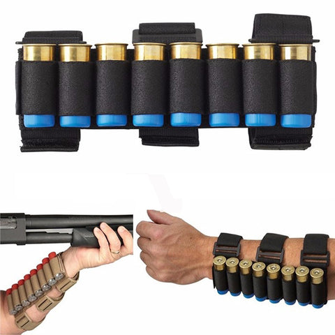 21x5cm Shotgun Shell Tactical Conveyor 8 Rounds Forearm Mag Bag