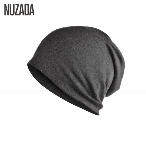 Unisex Men Women Skullies Beanies Hedging Cap Knit Knitting Cotton Double Layer Fabric Caps Bonnet Hat