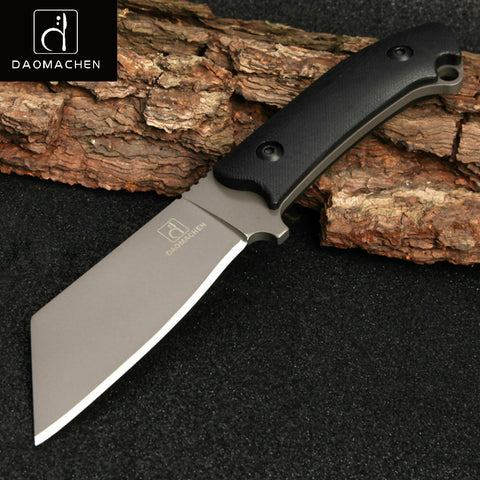 Outdoor Tactical Knife With Imported K Sheath Fixed Blade