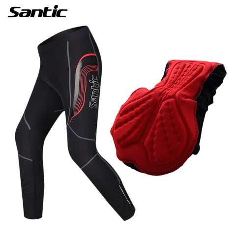 Men's Cycling Bicycle Pants 4D Pad Clothing