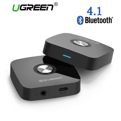 4.1 Wireless Bluetooth Receiver 3.5MM Aux receiver Audio Stereo Music Receiver Bluetooth Audio Adapter Car Aux Receiver