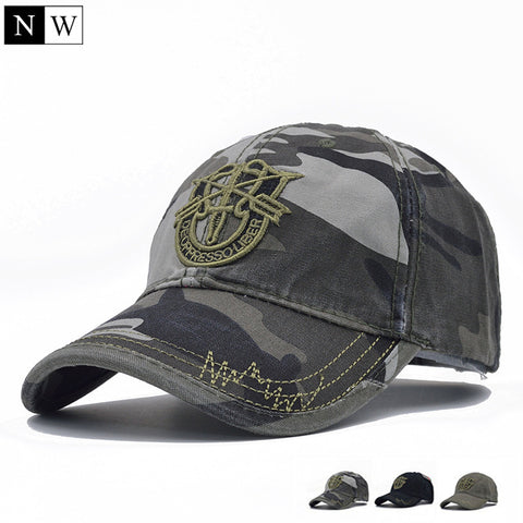 Army Cap Camo Baseball Cap Men Camouflage Snapback Tactical Cap Mens Baseball Caps Gorra Snapbacks
