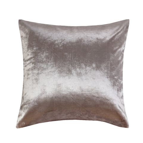 Shinny Silver Velvet Sofa Pillow Cushion Ivory 2 Sizes 45x45cm 50*50cm