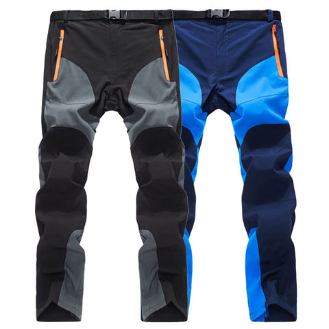 Men's Stretch Outdoor Hiking Pants Ultra Thin Breathable Trekking Trousers AM109