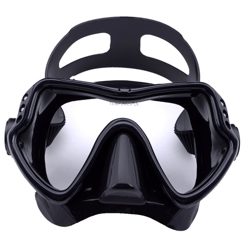 Scuba Diving Mask With Tempered Glass Silicon Frame