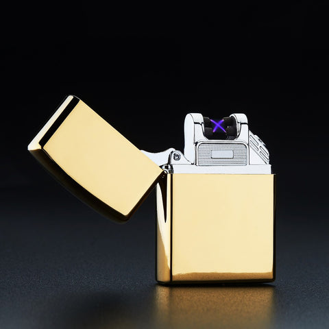 USB Charge Double Arc Pulse Electronic Cigarette Lighter