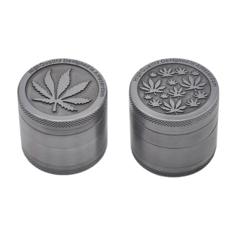 New Zinc Dia. 40MM 4 Parts Tobacco Crusher Herb Spice Grinder