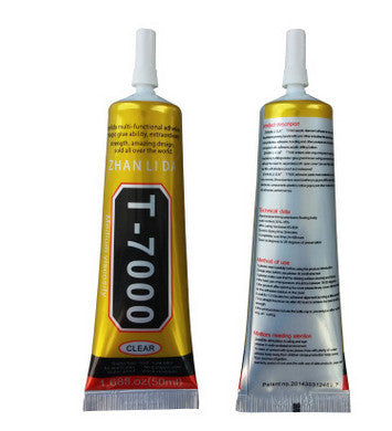 Stronger New T-7000 Glue 50ml Black Super Adhesive