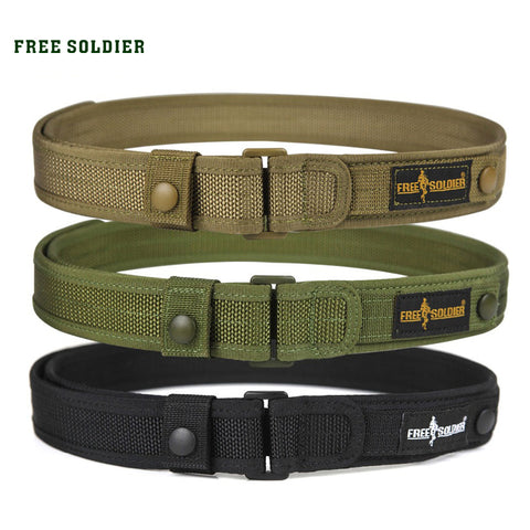 "Men's Tactical Molle Belt 1.5"" Nylon"