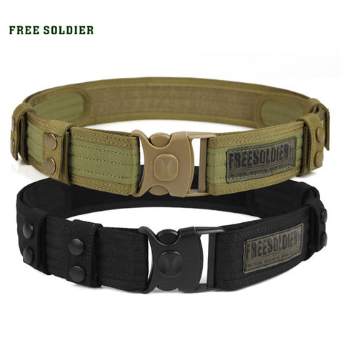 Men Sport Tactical Belt Molle Belt Nylon