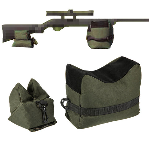 Rifle Front And Rear Sand Bag Without Sand