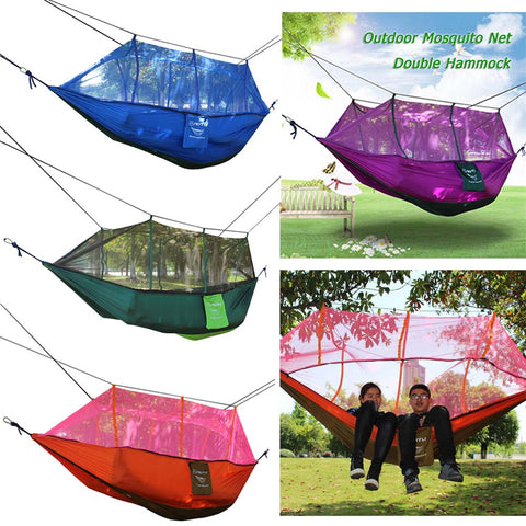 Ultralight Mosquito Net Hanging Bed Parachute Hammock 2 Person