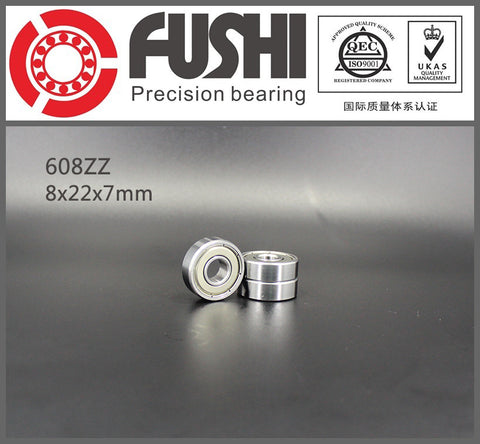 608ZZ Bearing 8x22x7 mm 10 Pcs ABEC-5 Miniature 608 ZZ Ball Bearing