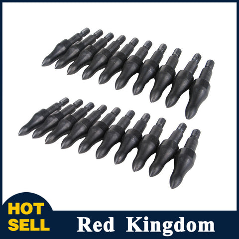20 Pcs Screw Insert Broadheads 100 Grains with Carbon Express Arrowhead