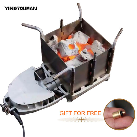 BRS-116 Camping Wood Charcoal Stove Foldable Firewood Furnace