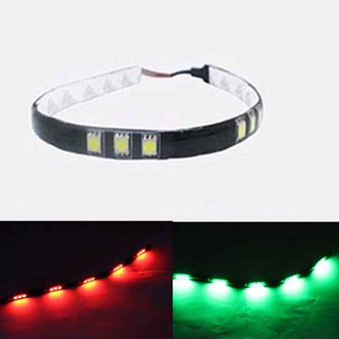 Bass Boat & Cruiser Bow Lighting Red & Green Navigation LED Kit Kayak Canoe