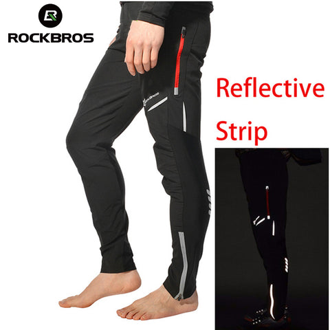 Cycling Bicycle Sports Pants Multif-unction Reflective Tights