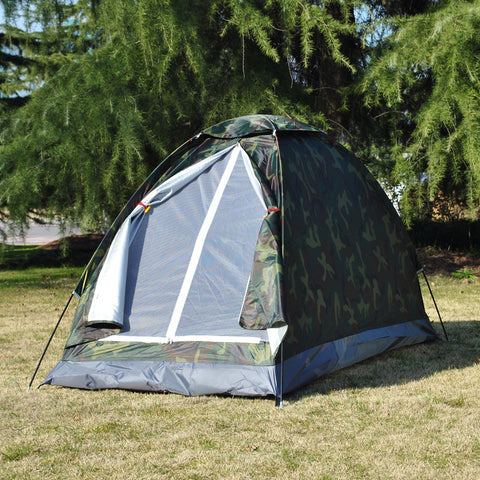 Camping Tent Single Layer Camouflage Tent Ultralight