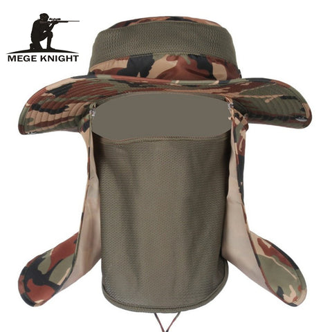 Insect Proofing Men's Military Camouflage Bucket Hat Mosquitoes Protection Tactical One Size