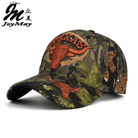 Women Men TEXAS Embroidery Unisex Camouflage Baseball cap Adjustable