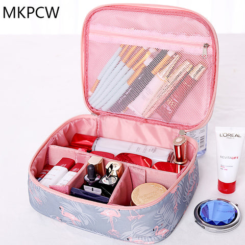 Women Cosmetic Makeup Travel Bag Toiletry Organizer