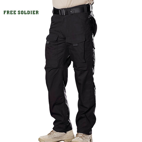 Men Outdoor Sports Camping Riding Hiking Tactical Cargo Pants Multi-pocket YKK zipper