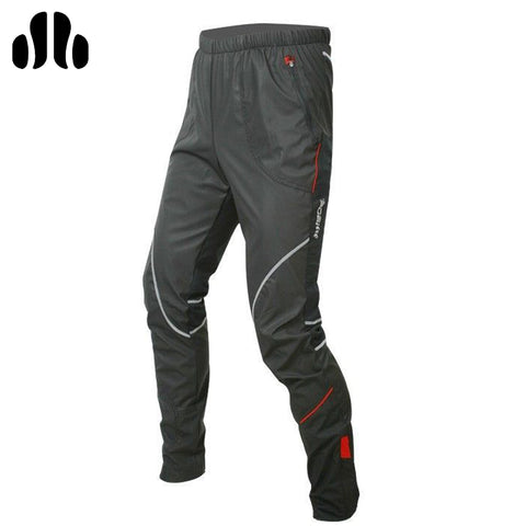 Men's Bicycle Cycling Pants Windproof Thermal Trousers Fleece