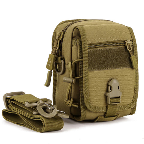 Men's Nylon Shoulder Bag Army Small Pack MOLLE