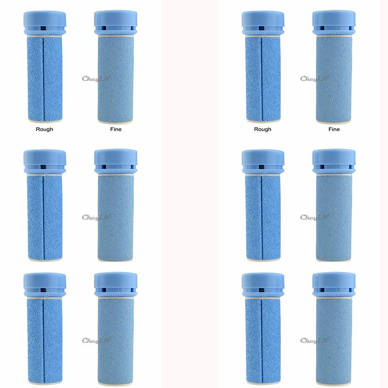12 Pcs Roller Heads Replacement For Electric Dead Skin Remover