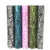 28cmx4.5m 5 Colors Music Note Tissue Wedding Tulle Spool Craft Rolls Organza Gauze Element Party Flower Decoration