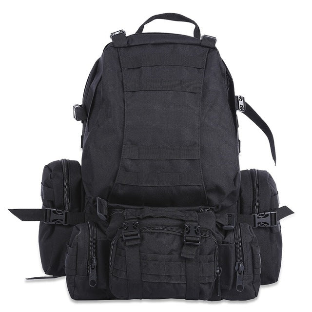 50L Multifunctional Outdoor Hiking Camping Backpack Military Tactical Molle Bags