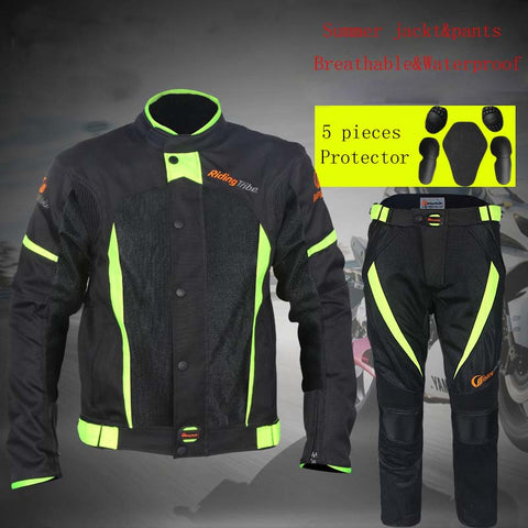 Riding Tribe Waterproof Motorcycle Jackets Breatheable Motocross Pants