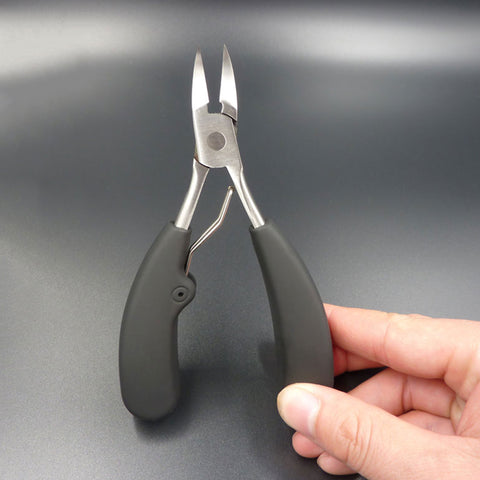 Big Size Stainless Steel Toe Finger Cuticle Nipper Nail Clipper Trimmer Cutter Plier Scissors