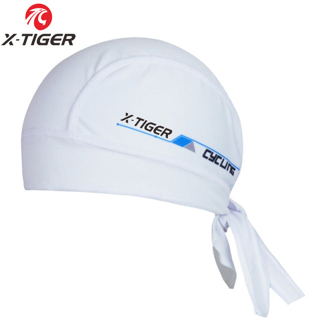 100% Polyester Breathable Cycling Headwear Quick-Dry MTB Bicycle Caps