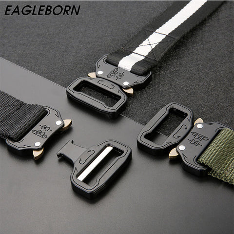 Tactical Belt Metal Buckle Nylon