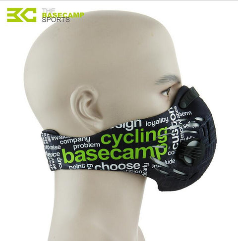 Activated Carbon Haze Anti-dust Filter Mask Breathable Bike Bicycle Cycling Face Cover Mouth-Muffle Dust Mask
