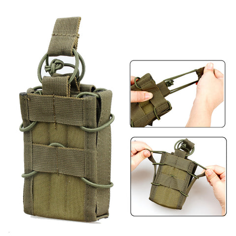 Tactical Molle Nylon Single M4 Magazine Pouch Bag