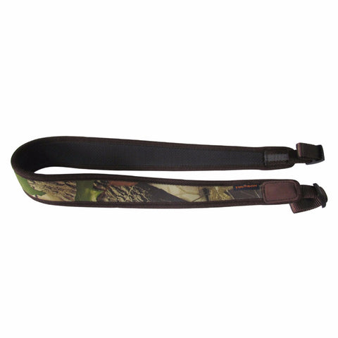 Rifle Shotgun Sling Camo Shoulder Strap Rubberized