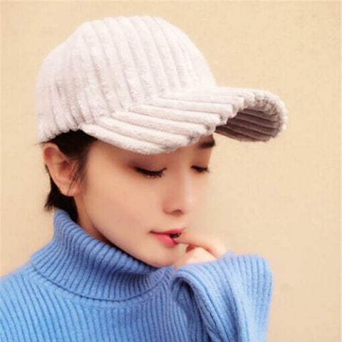 Women Girl Thicken Baseball Cap Hip-hop cap