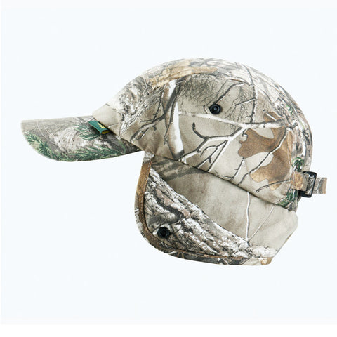 Camouflage Cap Ear Cover Thermal Snapback