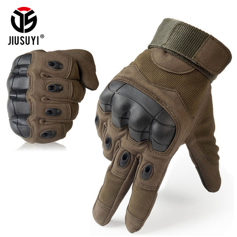 Touch Screen Military Tactical Gloves Anti-Skid Rubber Hard Knuckle