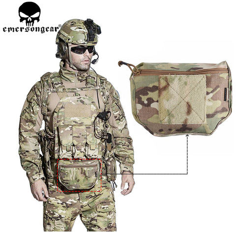 Tactical Molle Magazine Armor Carrier Dump Drop Pouch Bag