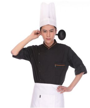 Restaurant Chef White Uniform