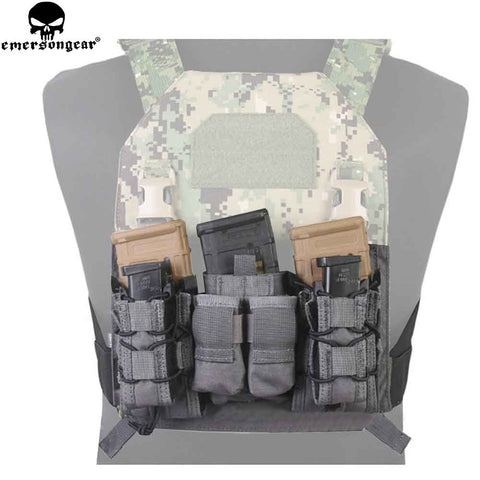 9mm 5.56mm Molle Double Decker Mag Pouch