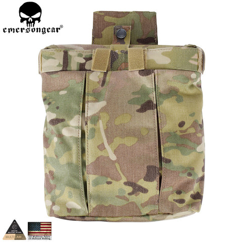 Tactical Magazine Dump Pouch Molle Utility Tool Mag Pouch