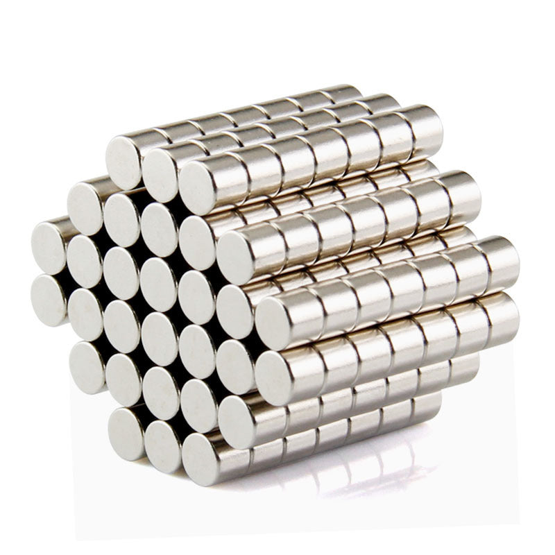 100 Pcs Round Mini 5x3mm N50 Strong Neodymium Magnets